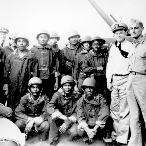 Negro troops of the 24th Infantry 1944.